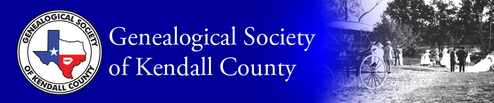 Genealogical Society of Kendall County, Texas